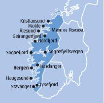La Norvegia Cartina.La Norvegia Dei Fiordi Viaggiemiraggi