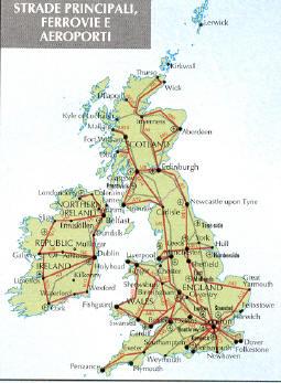 Cartina Aeroporti Inghilterra.Informazioni Sulla Scozia Viaggiemiraggi